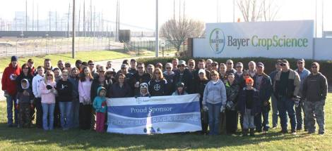 Bayer Crop Science is a major sponsor of PBRR.