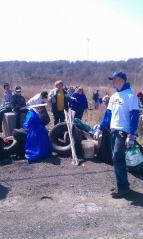 Boy Scout Pack & Troop 88, doing their part for the great outdoors!