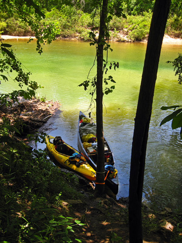 #2 - Jacks Fork River, a two- or three- day float with excellent fishing.